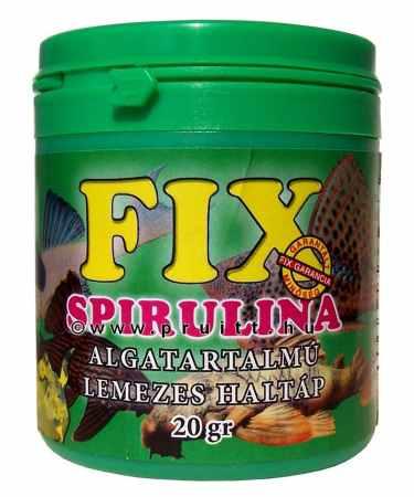 Fix spirulina lemezes haleleség 20 gr