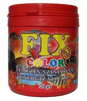 Fix color lemezes haleleség 20 gr