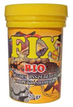 Fix bio tablettás haleleség 20 gr